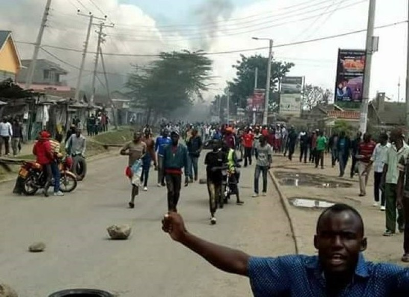 NASA supporters protesting government's move to seal off Jacaranda grounds